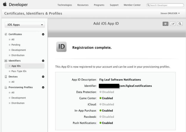 Registering an App